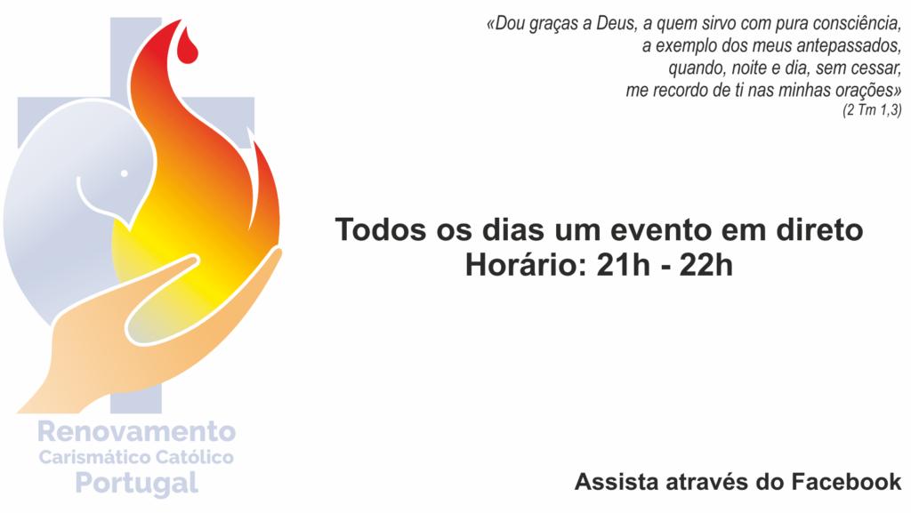 Eventos em direto - 24 horas Oração